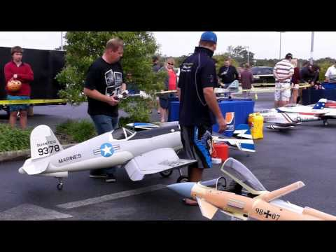 RC Jets and Radial Engine Demonstration