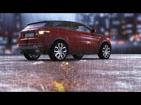 Element 3D Realistic Rain scene II FREE 3D Model II Tutorial II After Effect CC 2017