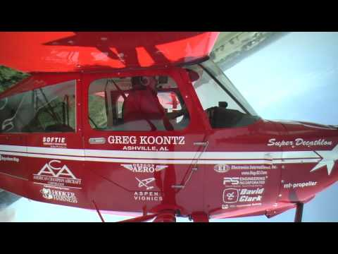 Greg Koontz 2012 Super Decathlon Airshow Routine