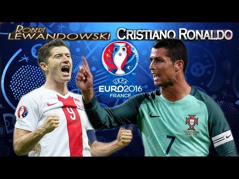 ROBERT LEWANDOWSKI Vs CRISTIANO RONALDO EURO 2016 HD