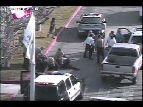 Deputies fight with man at Antelope Valley Hospital.