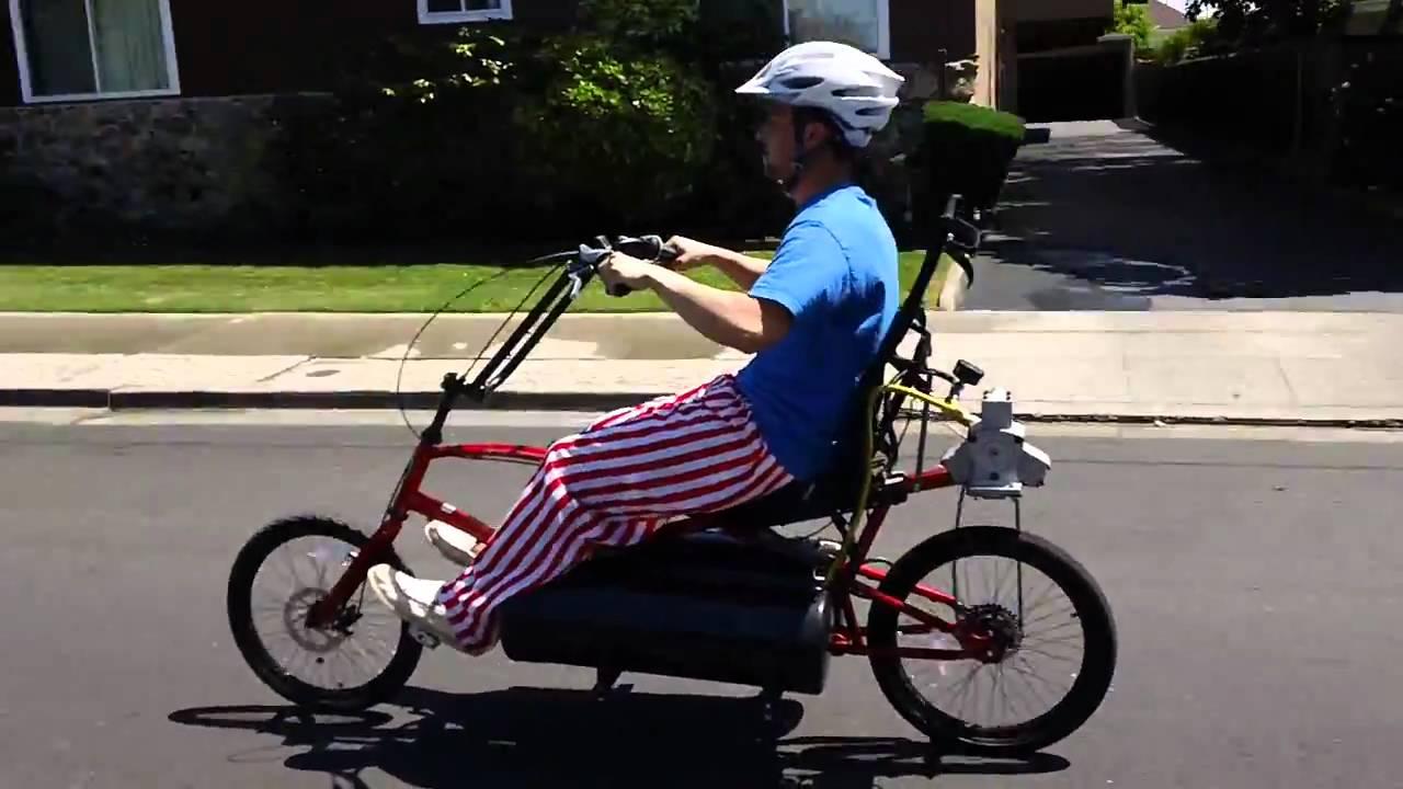 Compressed Air Powered Bike Youtube