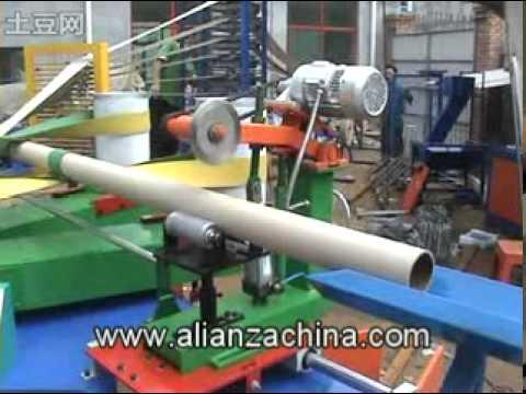 Maquina para fabricar tubo de papel 11 youtube - Maquinaria para relojes de pared ...