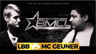 BMCL RAP BATTLE: LBB VS MC GEUNER (BATTLEMANIA CHAMPIONSLEAGUE)