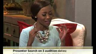 Bonang Matheba talks 2015 Presenter Search on 3
