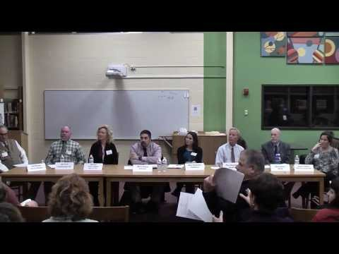 PTA Meeting - Panel of Dept Chairs from The Morgan School - Nov 11, 2013