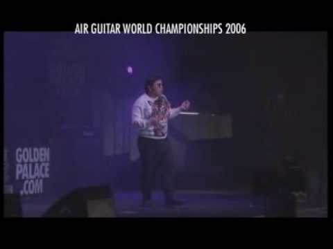 AIR GUITAR WORLD CHAMPION 2006 - Ochi