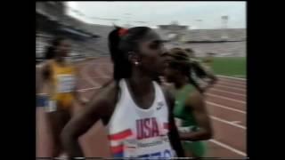 1992 Olympics, Women's 100m Semifinal 1, Barcelona, Spain