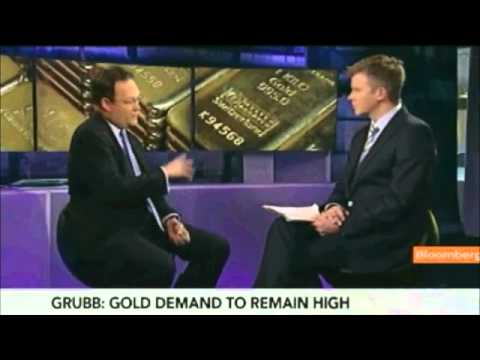 Grubb Says European Debt Crisis Boosting Gold Demand