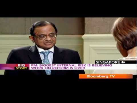 Big Story - Exclusive Interview With The Finance Minister P. Chidambaram