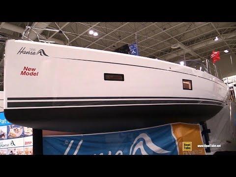 2018 Hanse 388 Sailing Yacht - Walkaround - 2018 Toronto Boat Show