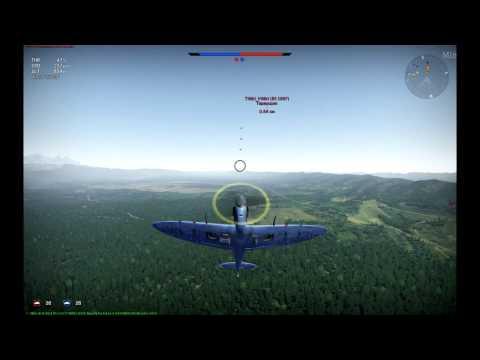 Основы воздушного боя в War Thunder. Часть 2 уход от атаки.