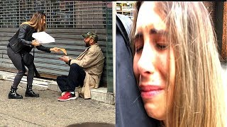 See What Happens When She Helped A Homeless!