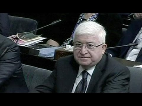 Veteren Kurd voted Iraqi president against a backdrop of violence