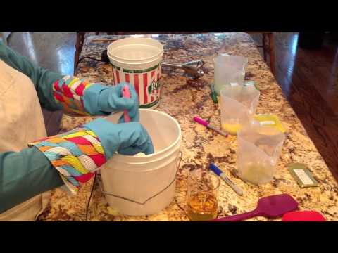 Cold Process Soapmaking with Room Temperature Oils and Hot