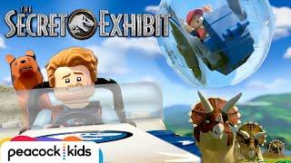 Gyrosphere on the Run | LEGO JURASSIC WORLD: THE SECRET EXHIBIT