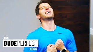 Dude Perfect Teaches Coby How To Play Like a Champion on CMT's Dude Perfect Show