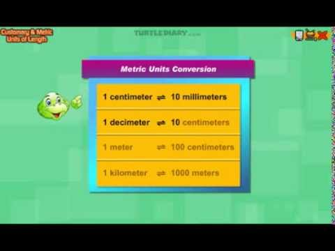Metric To Standard >> Metric Units of Length - Third Grade Math Lesson - YouTube