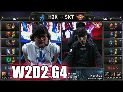 H2K vs SK Telecom T1 | Week 2 Day 2 Group C LoL S5 World Championship 2015 | H2K vs SKT G2 Worlds