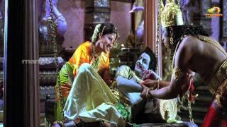 Sri Rama Rajyam - sri rama rajyam movie scenes - seethamma joking about anjaneya - bala krishna nayanatara