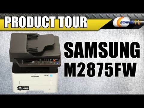 Newegg TV: Samsung Xpress M2875FW All-in-One Laser Color Printer Product Tour