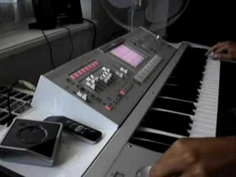 Korg M3 -Funk Lead Groove (OS 1.2 Sounds)