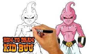 How to Draw Kid Buu | Dragon Ball Z