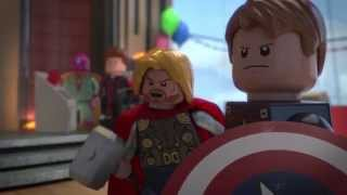 Ultron Crashes the Party - LEGO Marvel Super Heroes: Avengers Reassembled! - Clip 1