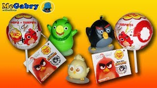ANGRY BIRDS EXPLORE-UNBOXING CHUPA CHUPS ANGRY BIRDS SURPRISE-EPISODE 1