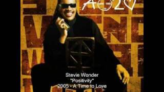 Watch Stevie Wonder Positivity video