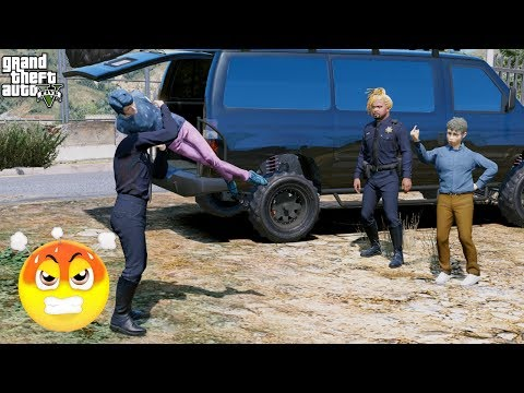 SEARCHING FOR JESSICA! WE FOUND THE EVIL KID ERIC! (GTA 5 Mods)