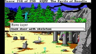 Let's Play King's Quest IV (12): A glorious defeat!
