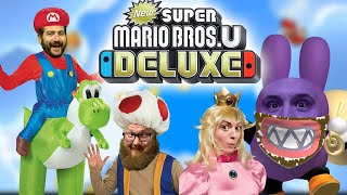 Down the Nabbit Hole - New Super Mario Bros U Deluxe Gameplay