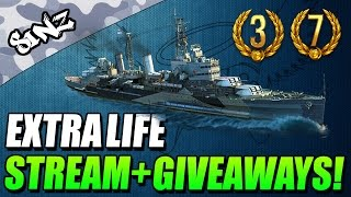 EXTRA LIFE STREAM + GIVEAWAYS! - World of Tanks Console | Chieftain Mk. 6 Gameplay