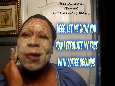 How I Exfoliate my Skin with Coffee Grounds