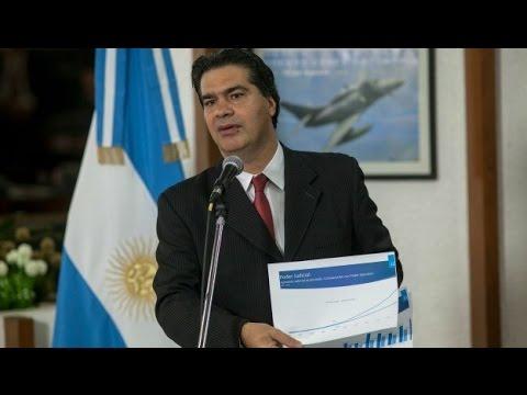 21 de NOV. Jorge Capitanich denunció estrategias del Poder Judicial contra el Gobierno.
