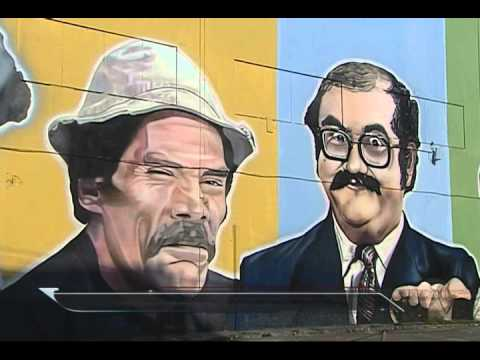 Turma do Chaves ganha novo mural na zona sul de São Paulo