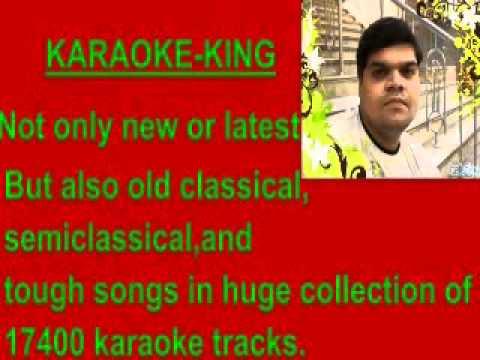 karaoke mujhko rana ji maaf karna-karan arjun.flv