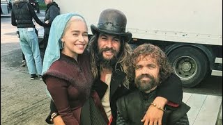 Heart Warming Photos From The Game Of Thrones Set | Behind The Scenes