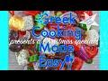 Finikia - Melomakarona BEST EVER! Xmas Honey Cookies by Yiayia Deppy
