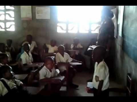 Elementary School in Liberia, West Africa