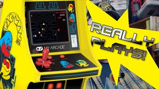 Pac Man My Arcade Micro Player Review