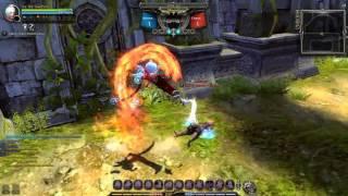 Dragon Nest 93 cap PVP Ripper VS Gladiator