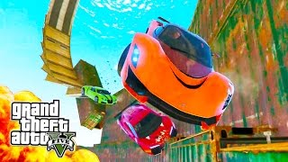 EXTREME SKY-HIGH STUNTS! (GTA 5 PS4 Gameplay Livestream)