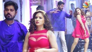 During song shoot of 7 Naatkal | Sakthi Vasu, Nikesha Patel | Tamil Movie Shooting Spot
