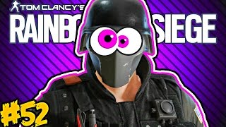 RAINBOW SIX SIEGE FUNNY MOMENTS #52! - Diamond Ranked Recruit, Quad Feed Spawn Rush