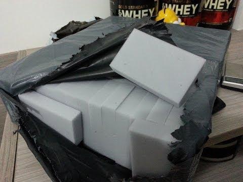 Unboxing - 100 Magic Sponge Eraser Cleaner