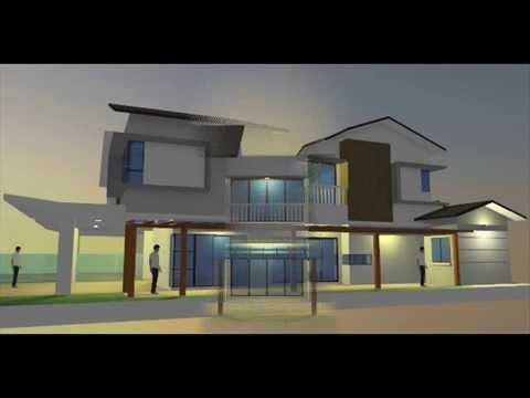 Rekabentuk Ubahsuai Rumah Berkembar 2 Tingkat di Seksyen U12 Shah Alam