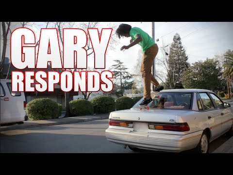 Gary Responds To Your SKATELINE Comments Ep. 70 - Car Drop In, Chris Chann, Jaws