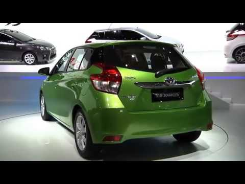 New Yaris and New Vios introduction video at 2013 Auto Shanghai